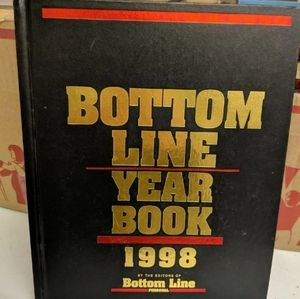 Other - VINTAGE Bottom Line Year Book 1998